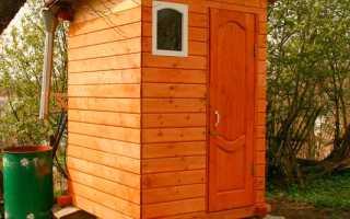 Как построить Деревенский туалет своими руками: чертежи, типы, варианты строительства