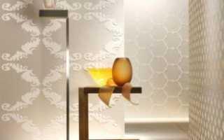 Поклейка флизилиновых обоев или виниловые обои своими руками и улучшить стены в доме