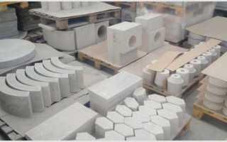 Как приготовить жаропрочный бетон своими руками