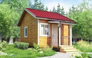 Проект каркасного дома 6 на 4: варианты