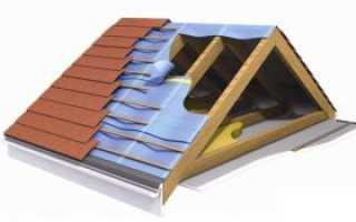 Монтаж обрешетки на крыше под профлист своими руками