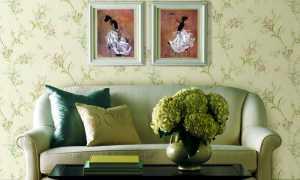Зеленые обои в интерьере: спальне, кухне, гостинной