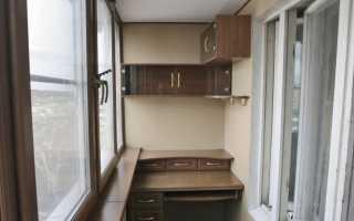 Кабинет балкона (58 фотографий): Как сделать место для работы и стола в Loggia, идеи для областей