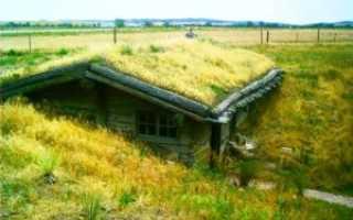 Землянка своими руками: правильный подземельный домик