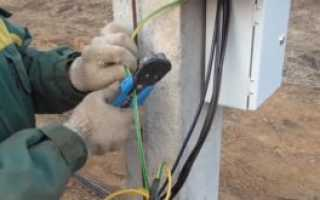 Подключение электричества к незастроенному участку – пошаговая инструкция