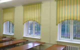 Шторы для школы в класс или коридор своими руками с выкройками