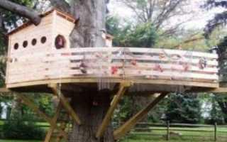 Дом на дереве своими руками для детей и взрослых