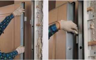 Установка сейф дверей своими руками