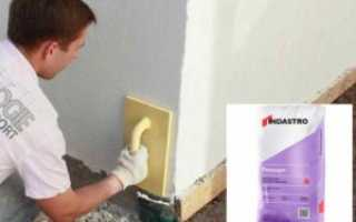 Известково-цементная штукатурка:состав, технические характеристики