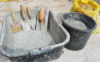 Какие пропорции необходими для изготовления бетона своими руками