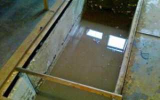 Гидроизоляция смотровой ямы своими руками в гараже: пошаговая инструкция