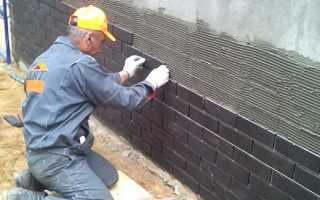 Как клеить облицовочную плитку на фундамент и стены частного дома правильно