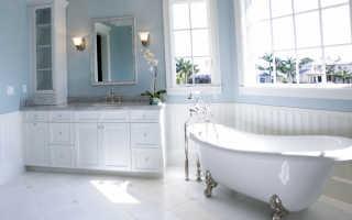8 видов красок для стен в ванной: достоинства и недостатки, правила применения