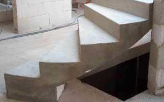 Сделаем бетонную лестницу на второй этаж в частном доме своими руками