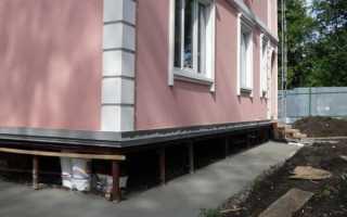 Отделка цоколя свайно-винтового фундамента дома своими руками