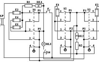 Схемы подключения конфорок на плите – инструкция и схема