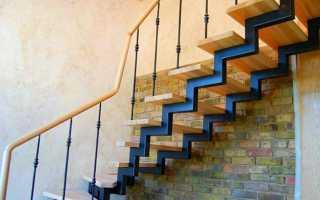 Металлическая лестница на второй этаж своими руками в частном доме