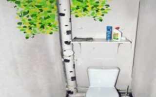 Как лучше скрыть трубы в ванной без каркаса