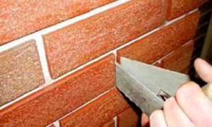 Как облицовать дом под кирпич клинкерной плиткой для фасада