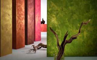 Фактурная краска для стен – правильное нанесение