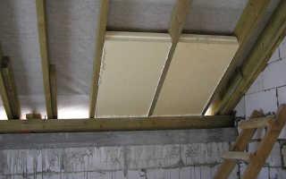 Утепление крыши дома пенопластом: технология и пошаговая инструкция