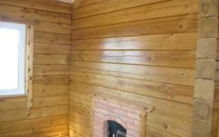 Как покрасить деревянный дом внутри