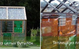 Как построить теплицу из пластиковых бутылок на даче для выращивания растений