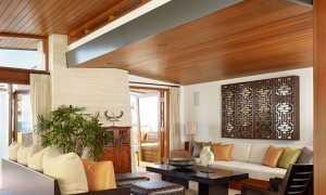 Как украсить потолок в частном доме: обзор и  идеи