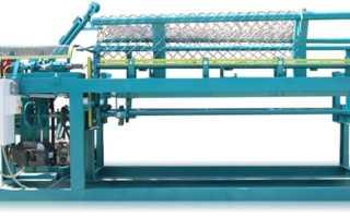 Изготовление сетки рабицы на автоматических и полуавтоматических станках