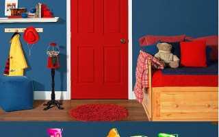Как покрасить и отлакировать деревянные межкомнатные двери своими руками в доме
