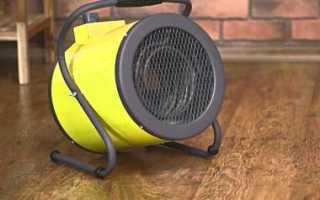 Тепловая пушка электрическая для дома или гаража или дачи 220в