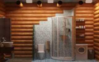 Как сделать душ в деревянном доме своими руками