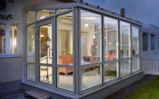 Как застеклить веранду на даче поликарбонатом или стеклами с открывающимися окнами