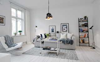 Интерьер дома в скандинавском стиле: обзор и оформление