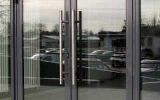 Алюминиевые входные двери из алюминиевого профиля