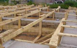 Столбчатый фундамент для каркасного дома: выполнение своими руками