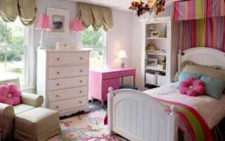 Дизайн девичьей комнаты для ребенка – 95 фото интерьеров после ремонта, красивые идеи