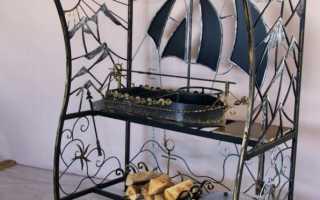 Мангалы барбекю из металла своими руками: чертежи, пошаговая инструкция
