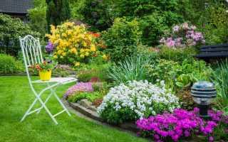 Создание цветников своими руками и уход за ними