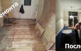 Как дешево сделать ремонт на кухне своими руками