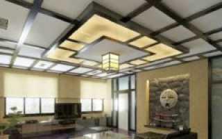 Многоуровневые потолки из гипсокартона и натяжные своими руками с подсветкой