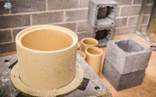 Керамический дымоход: достоинства и недостатки, установка |