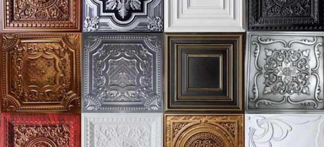 Чем покрасить плитку на потолке из пенопласта