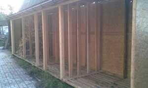 Как построить дровяник на даче своими руками поэтапно