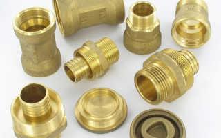 Фитинги для трубопроводов высокого давления: из латуни, полипропиленовые или стальные