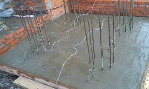 Прогрев бетона в зимнее время электродами: схема подключения и способы прогрева