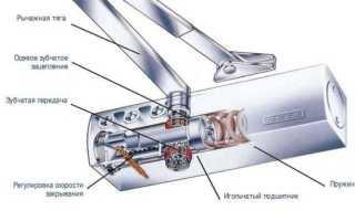 Как установить дверной доводчик на деревянную или металлическую дверь своими руками