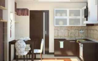 Комбинированная бело-коричневая кухня: тонкости сочетания оттенков
