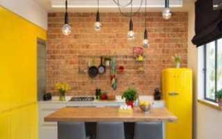ТОП-5 ярких кухонь, которые вам точно понравятся