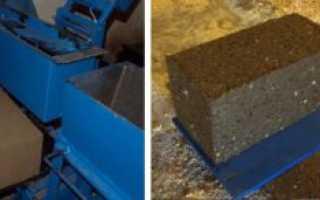 Оборудование для производства арболитовых блоков – рекомендации и отзывы